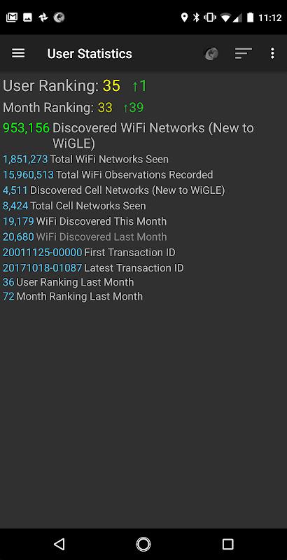 WiGLE WiFi Wardriving 2.39 Screen 7