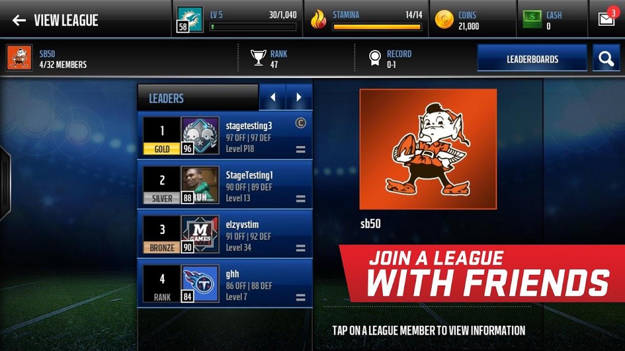 Madden NFL Mobile 3.8.3 Screen 7