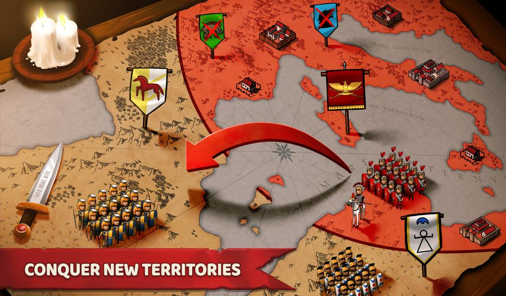 Grow Empire: Rome 1.3.85 Screen 18