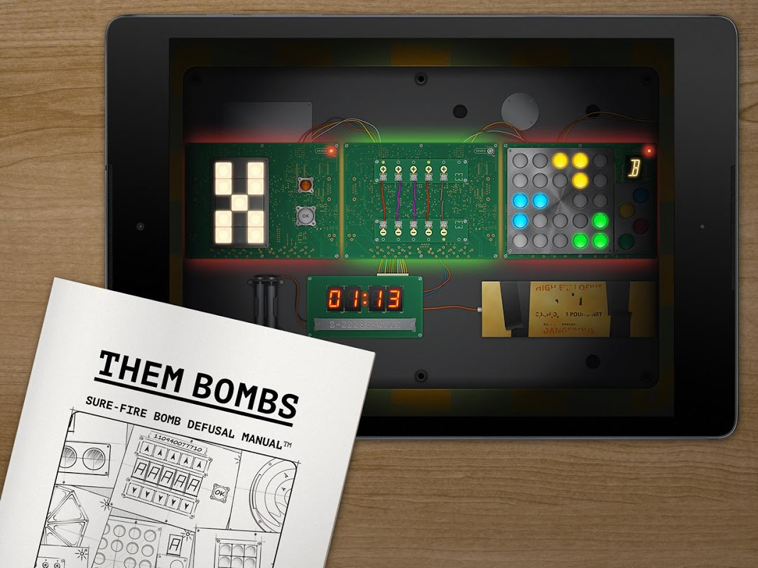 Them Bombs: co-op board game play with 2-4 friends 1.5 Screen 1