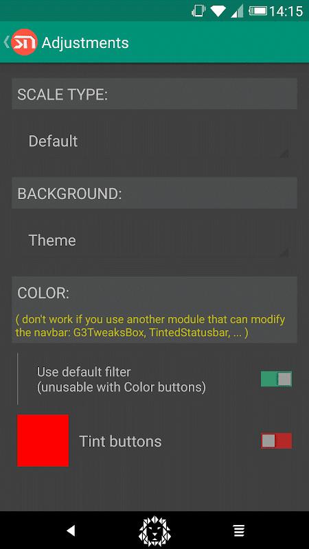 Android Xstana - Navbars & Statusbars Screen 6