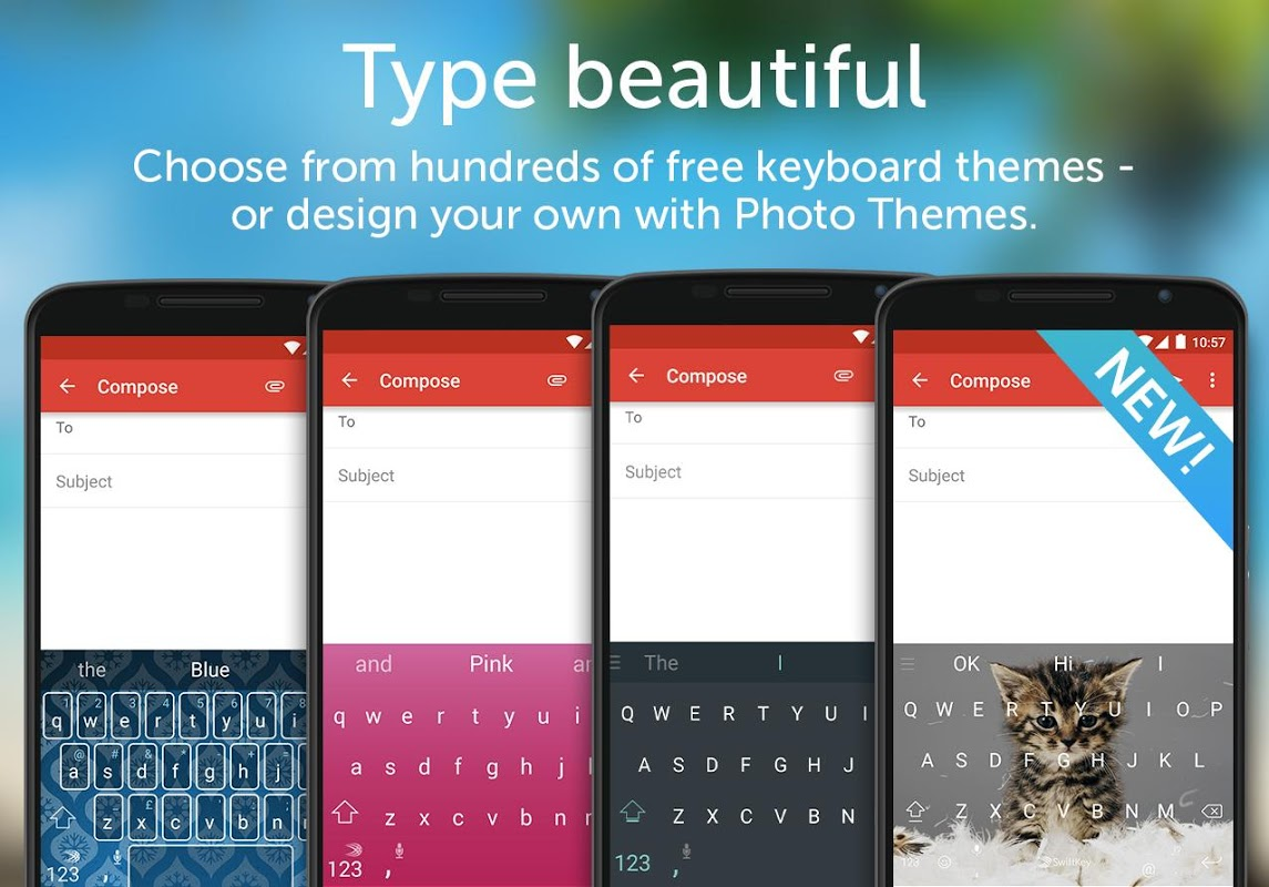 Android SwiftKey Keyboard Screen 6