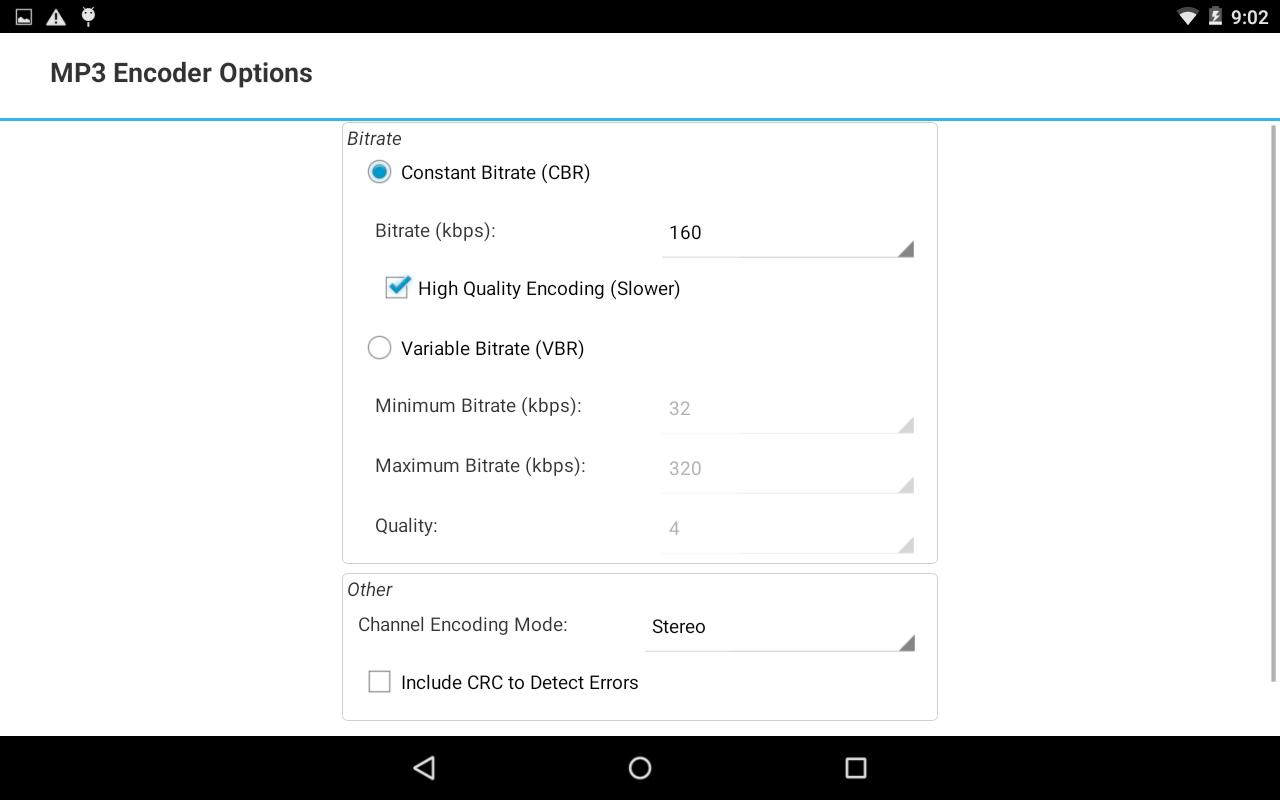 Switch Audio Converter Free 6.47 Screen 3