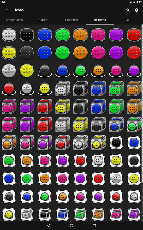 Android Stacks Icon Pack v4.2 Screen 13