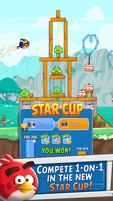 Android Angry Birds Friends Screen 10