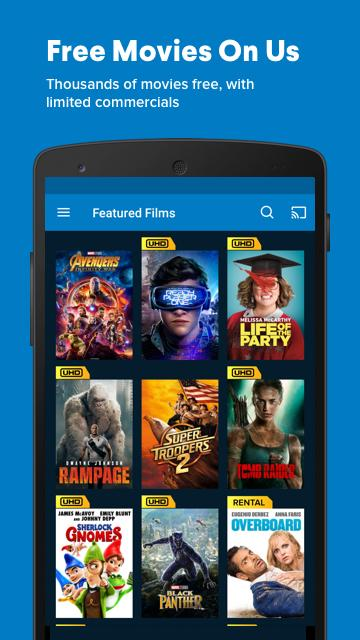 Vudu Movies & TV 4.3.58.123472 Screen 2