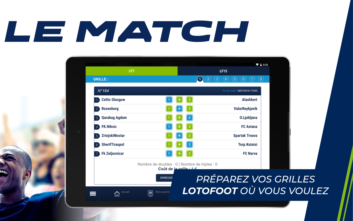 Android ParionsSport Point De Vente® Screen 7
