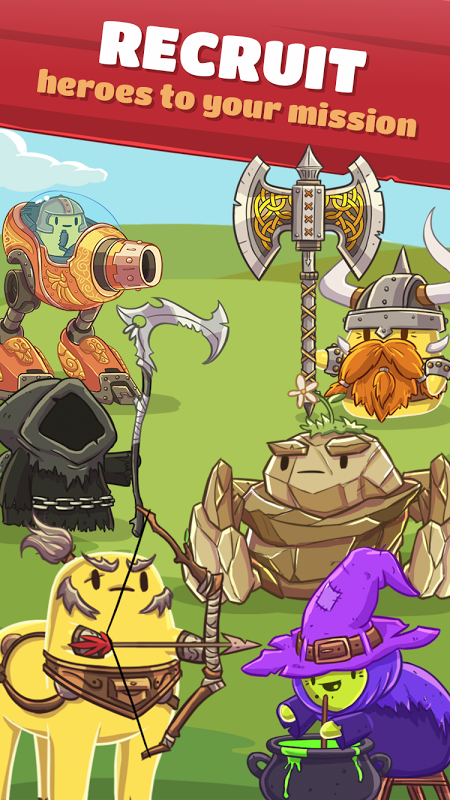 Hopeless Heroes: Tap Attack (Unreleased) 0.1.07 Screen 4