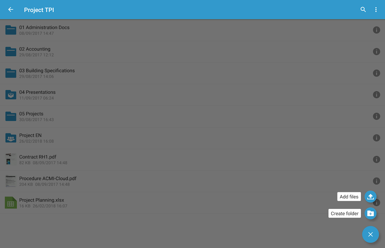 Oodrive Mobile 1.8 Screen 10