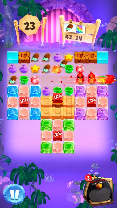 Android Angry Birds Match Screen 19