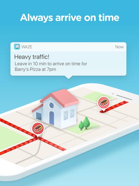 Android Waze - GPS, Maps, Traffic Alerts & Sat Nav Screen 7