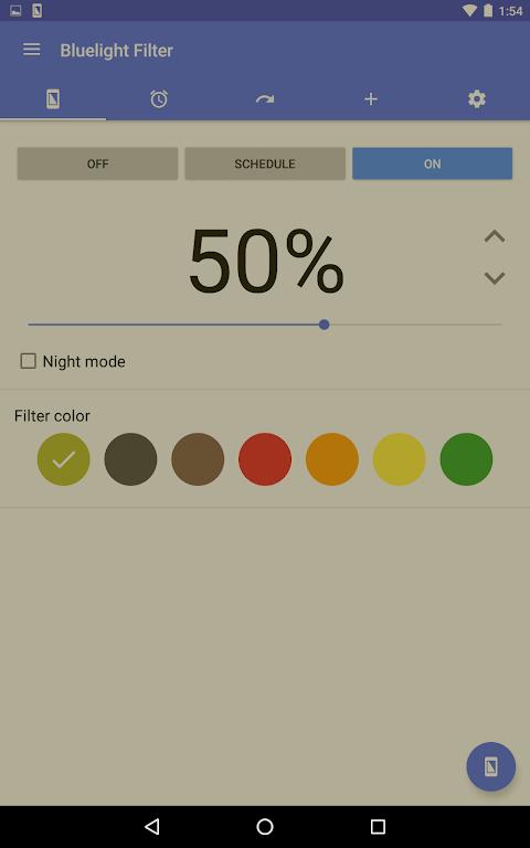 Bluelight Filter for Eye Care 2.9.24 Beta 3 Screen 7