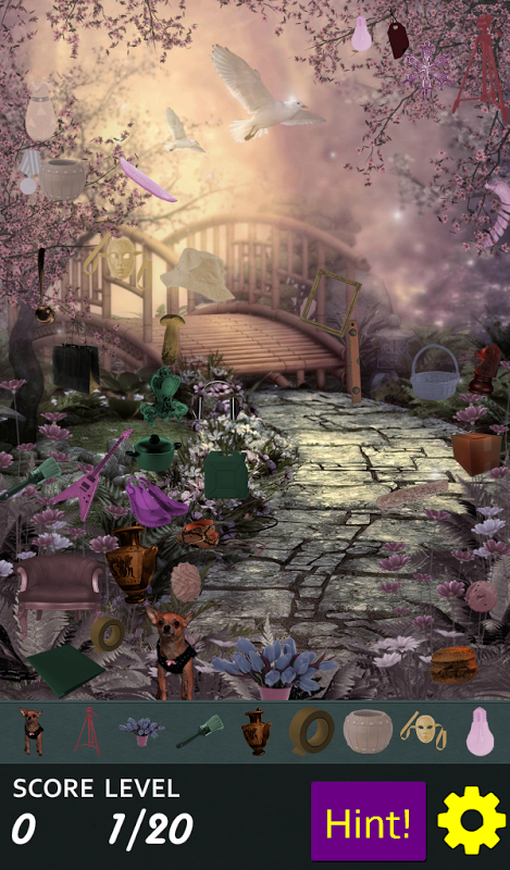 Android Hidden Object - May Flowers Screen 2