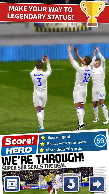 Score! Hero 1.55 Screen 11