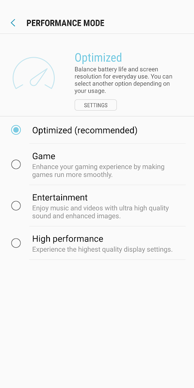 Device Maintenance 2.0.00.39 Screen 3
