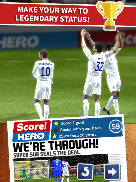 Score! Hero 1.55 Screen 6