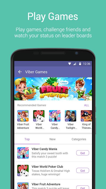 Android Viber Messenger Screen 7