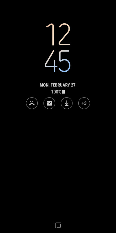 [Samsung] Always On Display 4.0.57 Screen 2