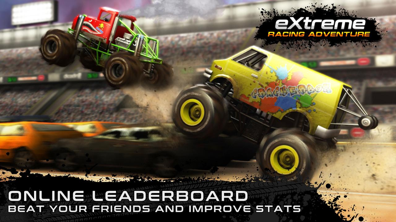 Android Extreme Racing Adventure Screen 1