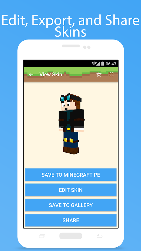 MCPE Skin Studio 4.0.1 Screen 2