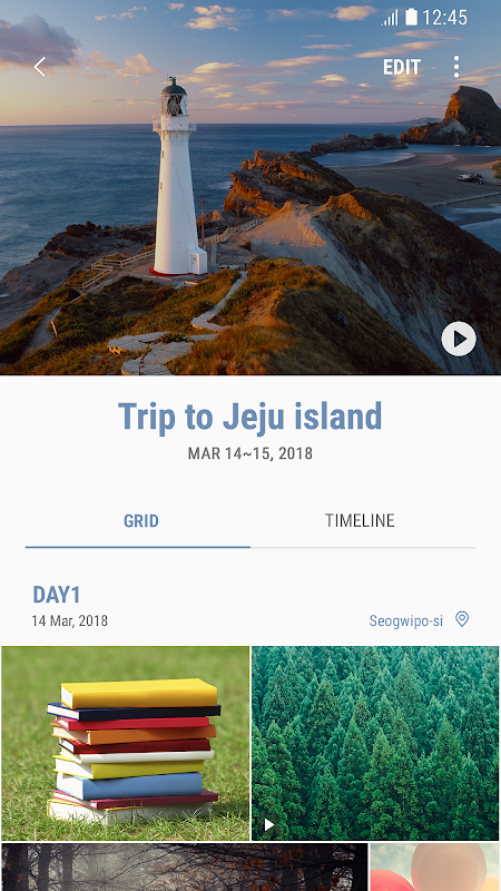 Android Samsung Gallery Screen 3