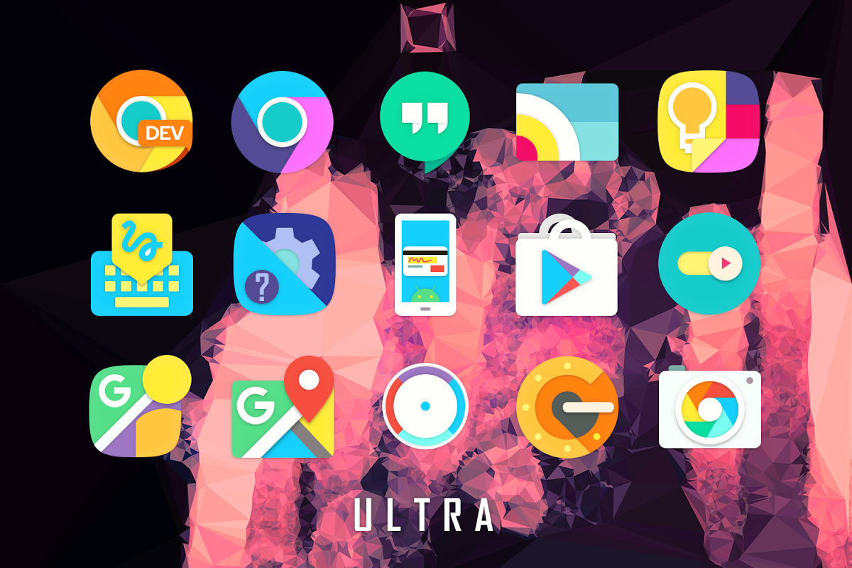 Android Ultra Icon Pack Screen 6