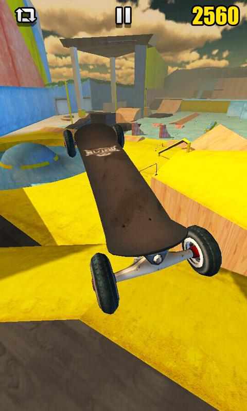 Android Real Skate 3D Screen 1