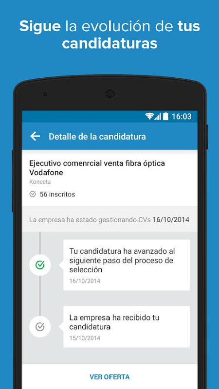 Android InfoJobs - Job Search Screen 6