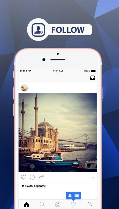 Free Followers instagram 3.4.4.3.1 Screen 1