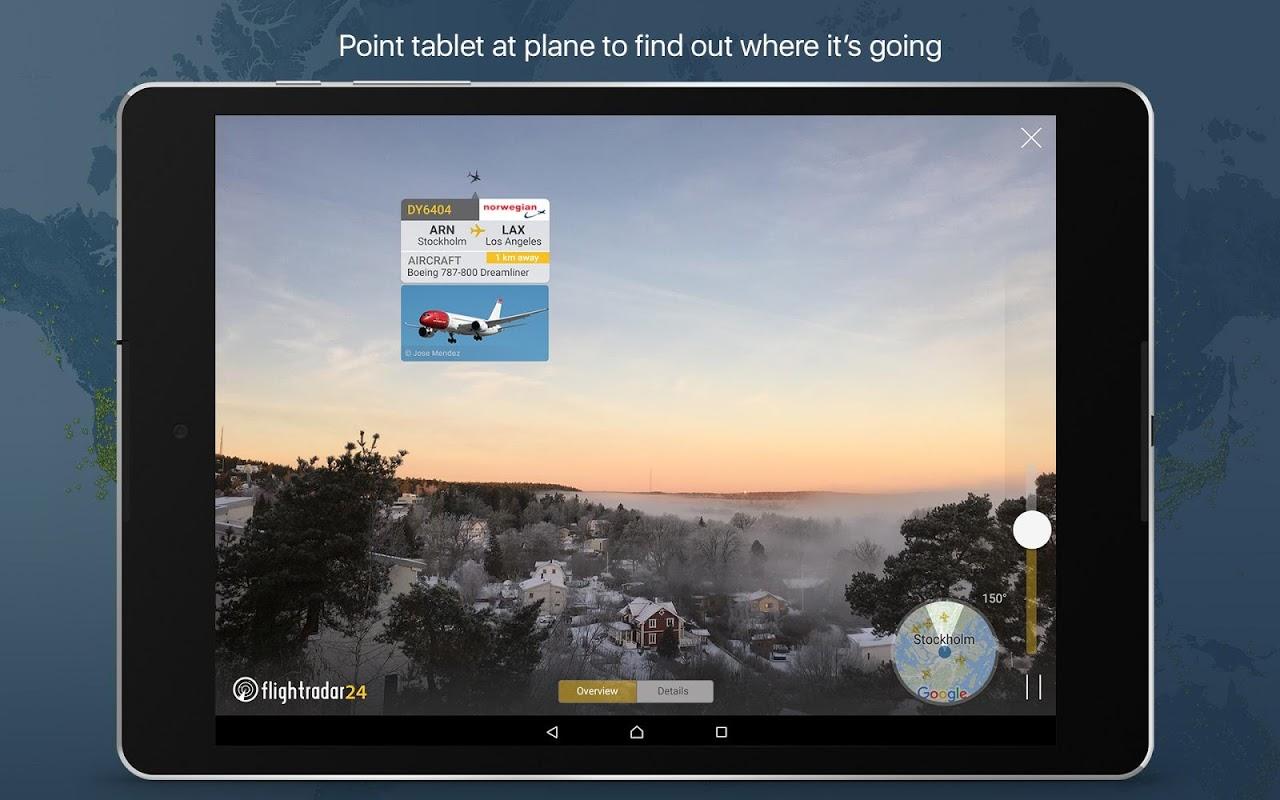Android Flightradar24 Flight Tracker Screen 9