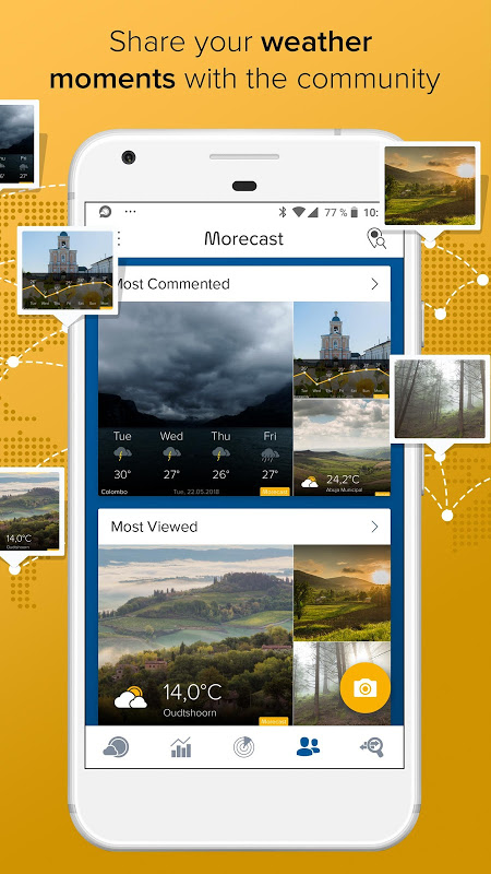 Morecast - Your Personal Weather Companion 4.0.7 Screen 3