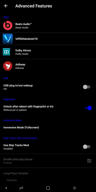 Android Minotaurus Multi RomControl Screen 7