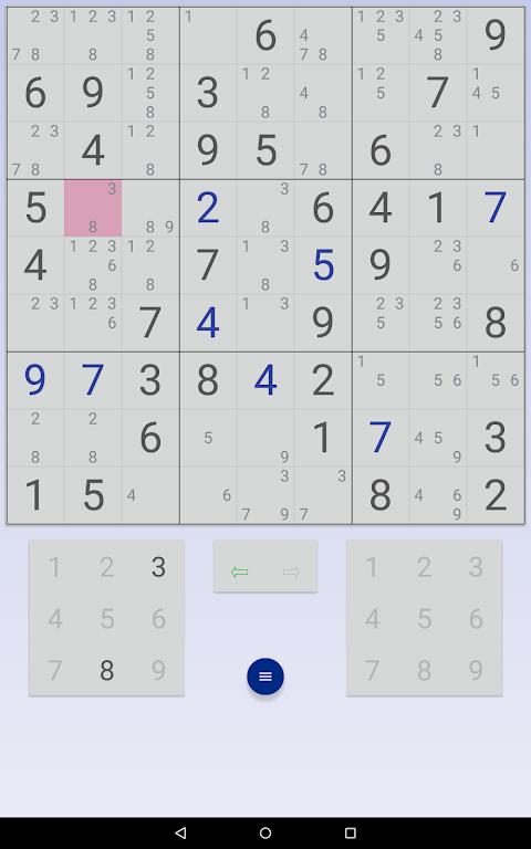 Sudoku: 3 in 1 1.7.3 Screen 8