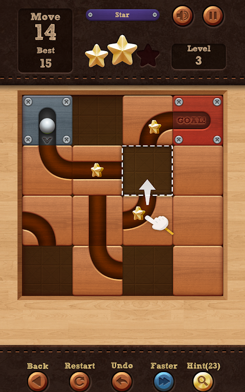 Roll the Ball� - slide puzzle 1.7.46 Screen 2