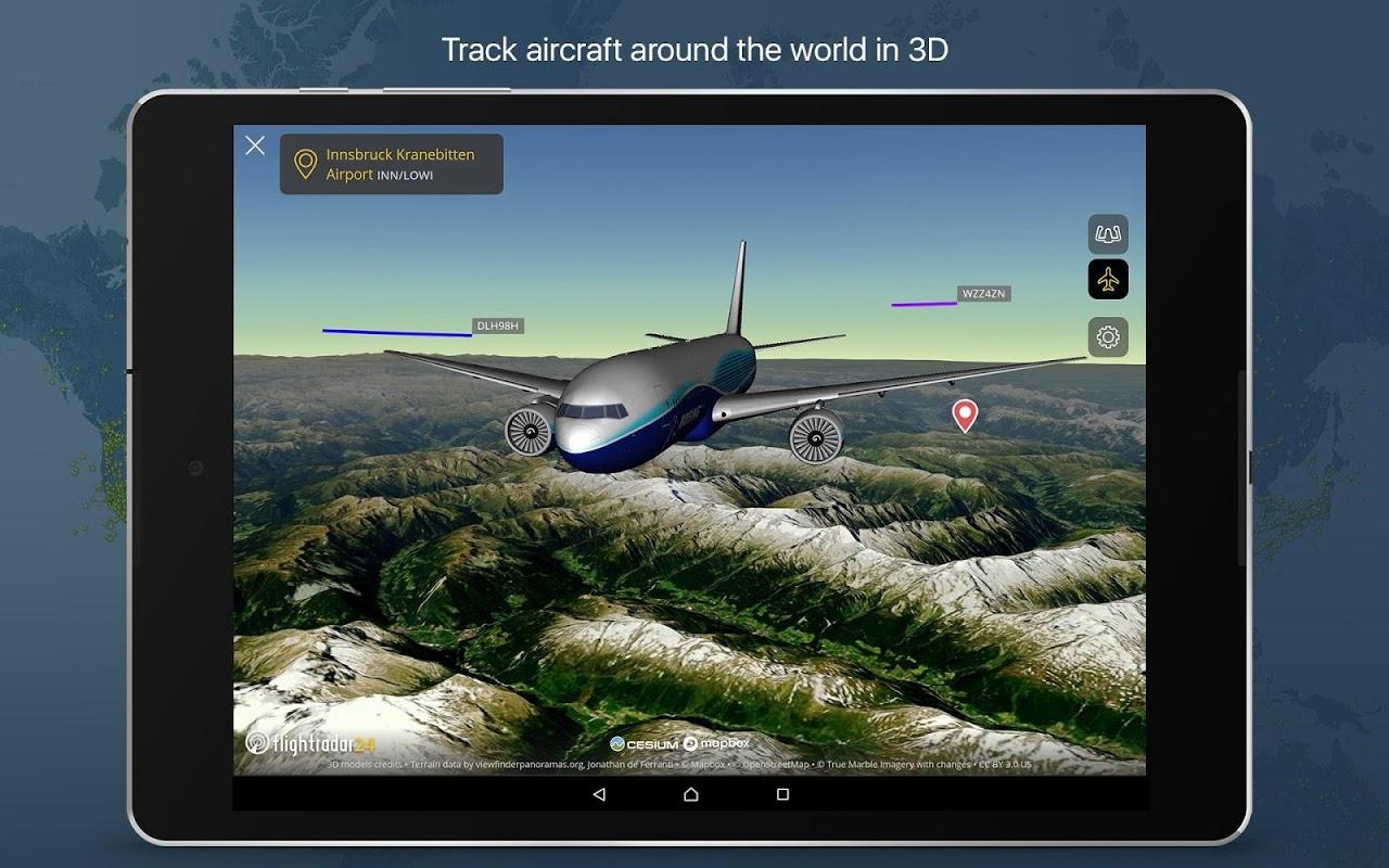 Android Flightradar24 Flight Tracker Screen 11