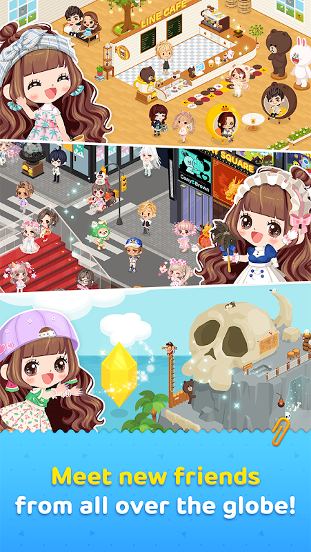 LINE PLAY - Our Avatar World 6.4.0.0 Screen 3