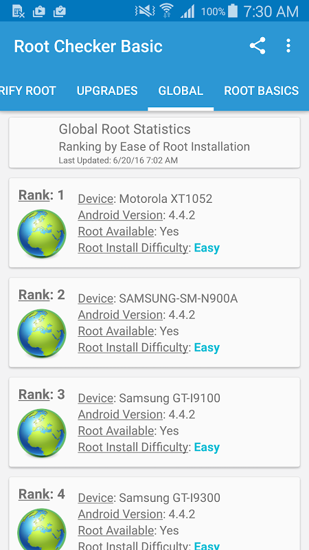 Root Checker 6.0.7 Screen 3