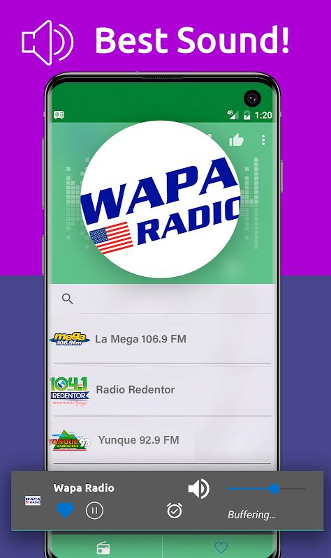 Android Free Puerto Rico Radio AM FM Screen 4