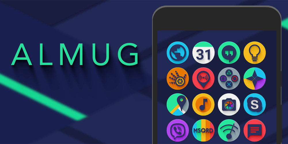 Android Almug - Icon Pack Screen 7