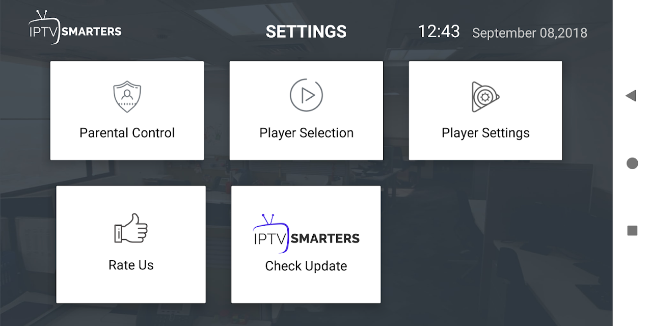 IPTV Smarters Pro 1.6.9 Screen 5