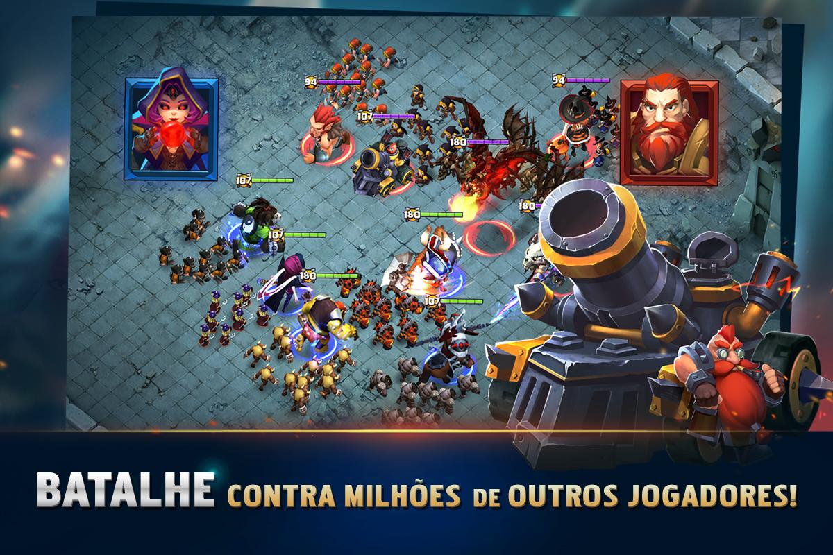 Android Clash of Lords 2: A Batalha Screen 3