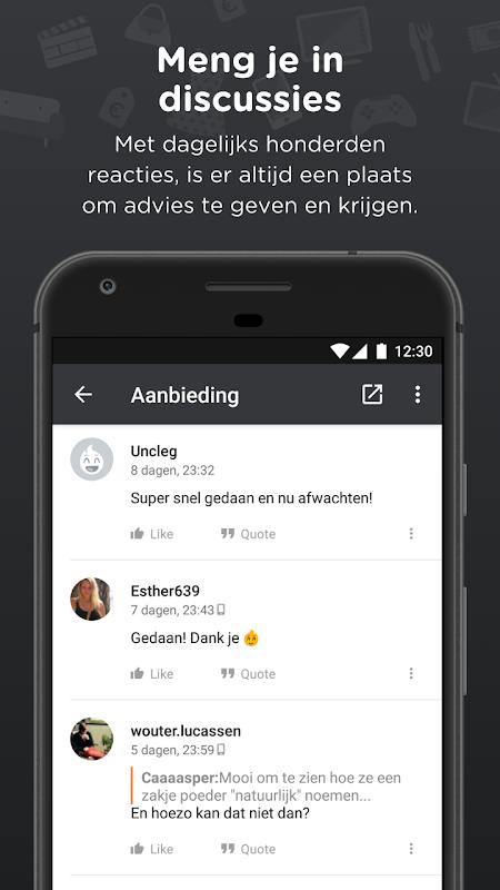 Android Pepper.com: De heetste deals Screen 2