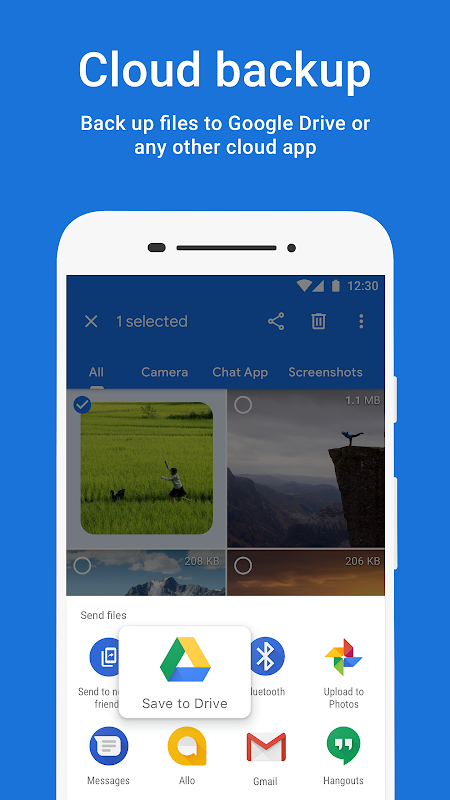 Files by Google: Clean up space on your phone 1.0.224103129 Screen 5