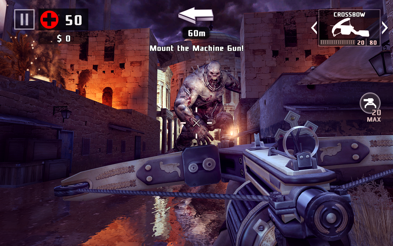 Android Dead Trigger 2: First Person Zombie Shooter Game Screen 4