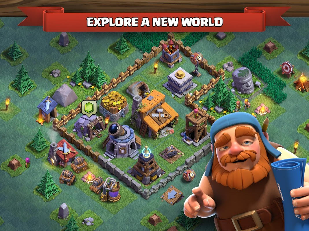 Clash of Clans 11.185.12 Screen 1