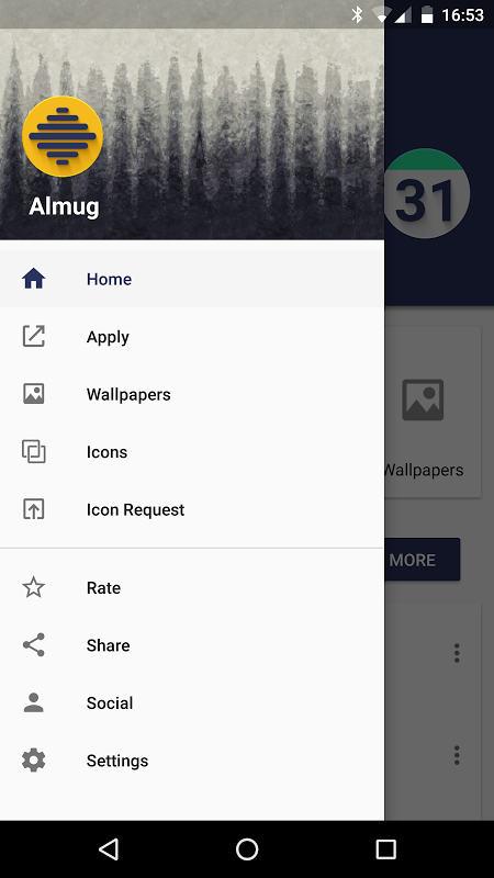 Android Almug - Icon Pack Screen 6
