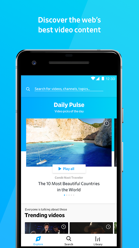 Dailymotion: Videos for now 1.31.29 Screen 4
