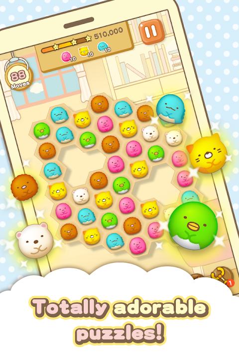 Android Sumikko gurashi-Puzzling Ways Screen 3
