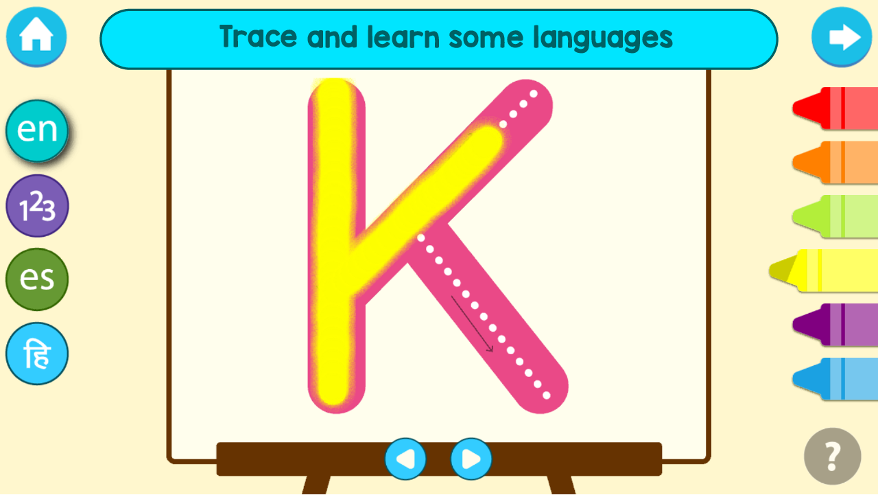 Android Kindergarten Kids Learning : Educational Games Screen 5