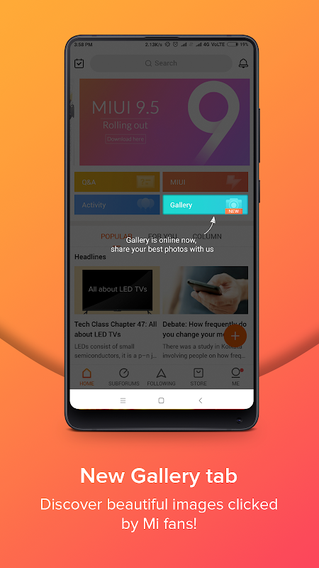 Mi Community - Xiaomi Forum 3.6.1 Screen 3